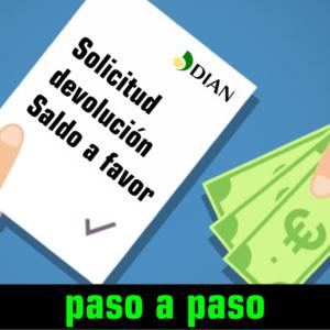 Curso-Solicitud devolución saldo a favor en renta