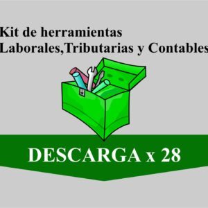 kit de 28 herramientas administrativas