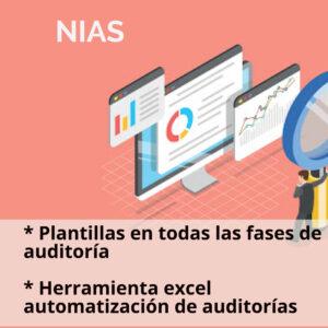 Kit de formatos auditoría NIAS